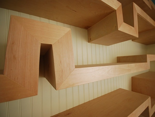 Shelves Design - Ultra-Unit Architectural Studio