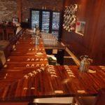 Fourth and Olive Restaurant Butcher Block Bar