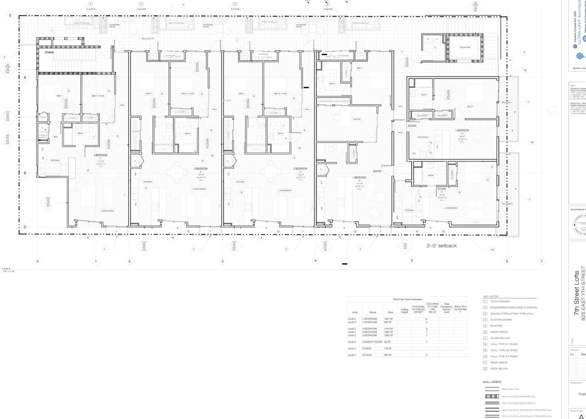 100 8 Unit Apartment Building Floor Plans Another