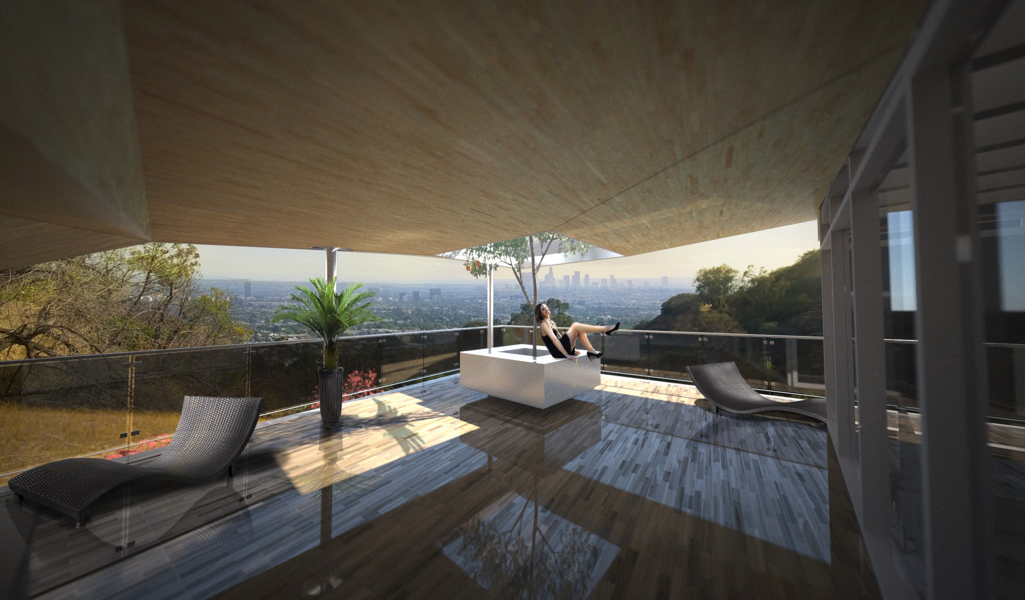 Latest Architectural Spaces - Valentine Custom Residence - Montecito heights, Los Angeles, CA.