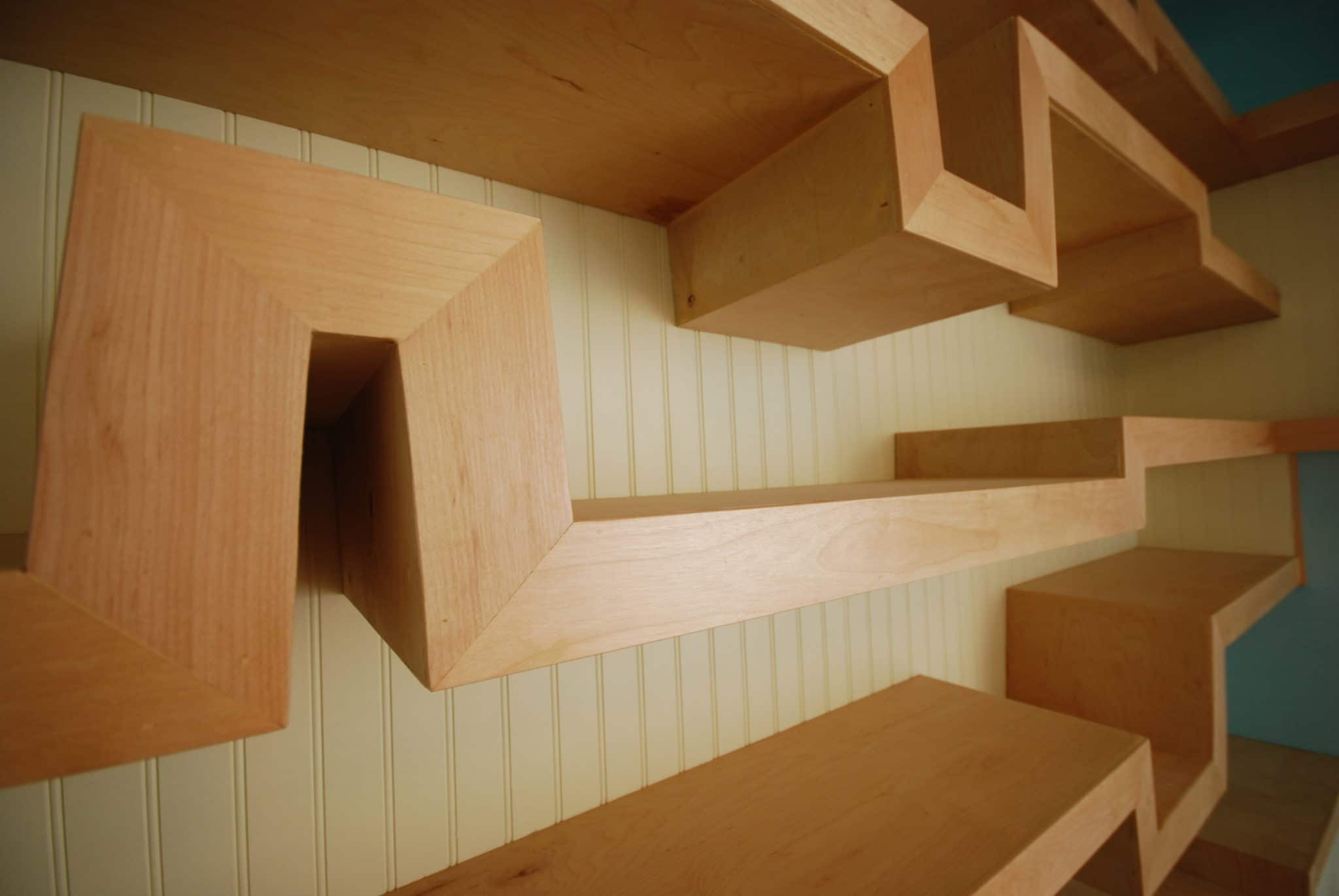 Shape Shelves - Ultra-Unit Architectural Studio